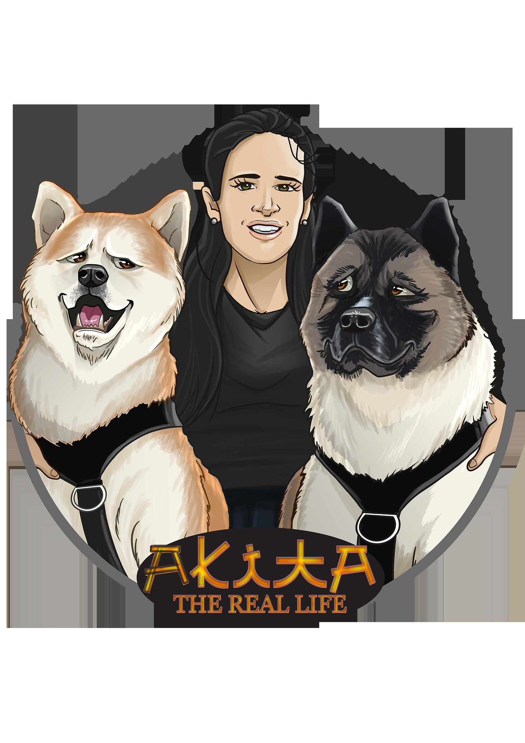 Akita the Real Life